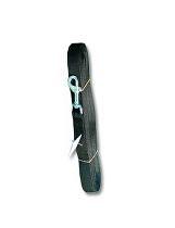 Vodítko nylon stopovací Ploché 10m/25mm Černá 1ks