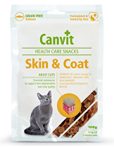 Canvit Cat Health Care Snack Skin & Coat 100g