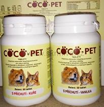 Coco pet 50tbl vanilka