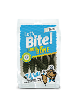 Brit pochoutka Let's Bite Brushin' Bone 90g NEW
