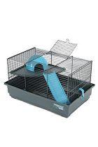 Klec myš INDOOR 40cm modrá s výbavou Zolux