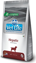 Vet Life Natural DOG Hepatic 12kg