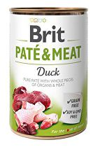Brit Dog konz Paté & Meat Duck 400g