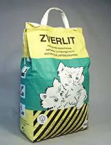 ZVERLIT zelený hrubá Podestýlka kočka 6kg