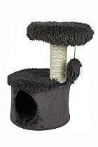 Škrábadlo YETI One cat tree černé 35x35x53 cm Zolux