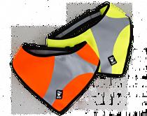Šátek reflexní Hurtta Dazzle M/L žlutý
