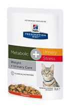 Hill's Feline kapsa Adult Metabolic+Urin. stres 12x85g