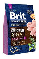 Brit Premium Dog by Nature Junior S 3kg