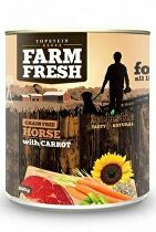 Farm Fresh Dog Horse with Carrot konzerva 800g