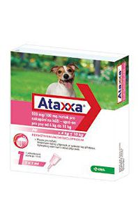 Ataxxa Spot-on Dog M 500mg/100mg 1x1ml