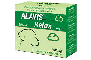 Alavis Relax pro psy 150mg 80cps