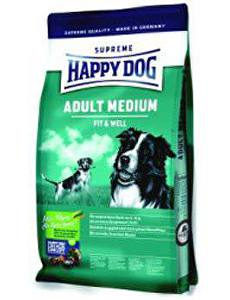 Happy Dog Supreme Adult Fit&Well Medium 4kg