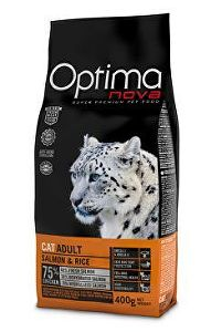 Optima Nova Cat Adult salmon & rice 2kg