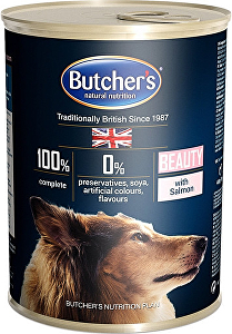 Butcher's Dog Functional Beauty losos konz. 400g