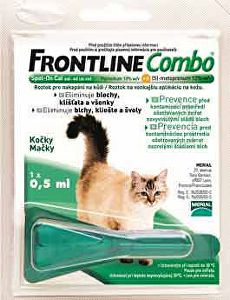 Frontline Combo Spot-on Cats sol 1x0,5ml
